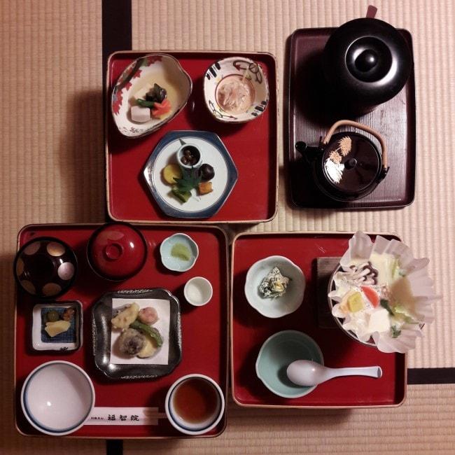 cena vegana buddista