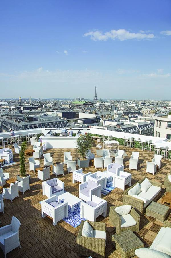 terrazza Galeries Lafayette
