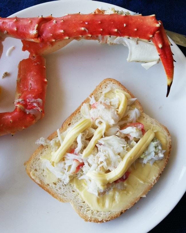 king crab granchio reale