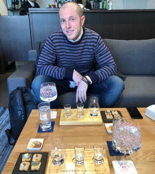 Distilleria Sakurao degustazione