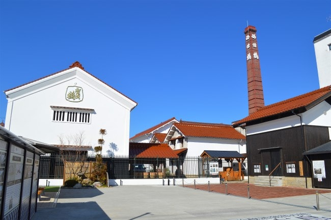 Saijo fabbrica di sake