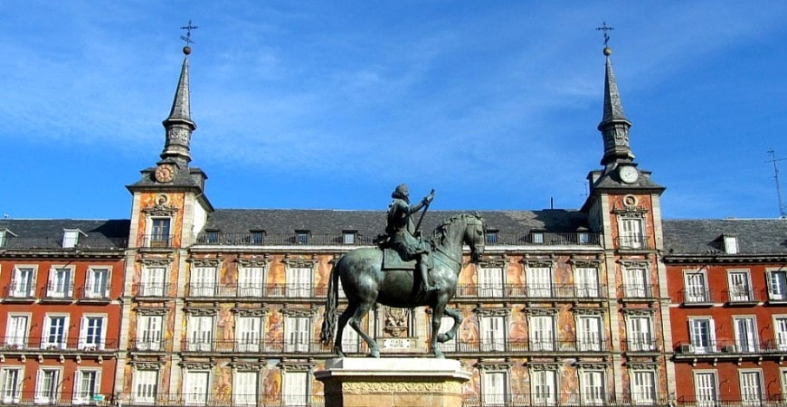 madrid plaza mayor