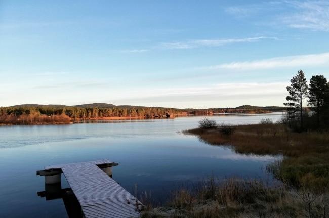 lago inari finlandia