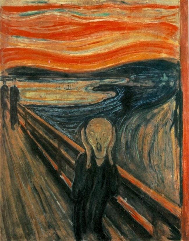 L'urlo Munch Oslo