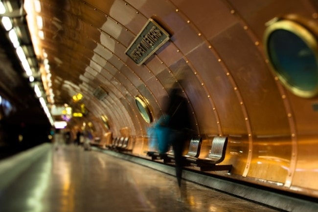 metro parigi Arts et Metiers