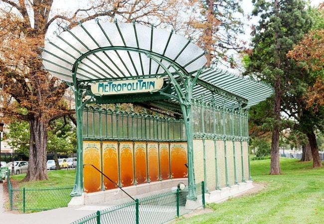 metro parigi Porte Dauphine