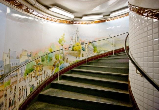 metro parigi abbesses