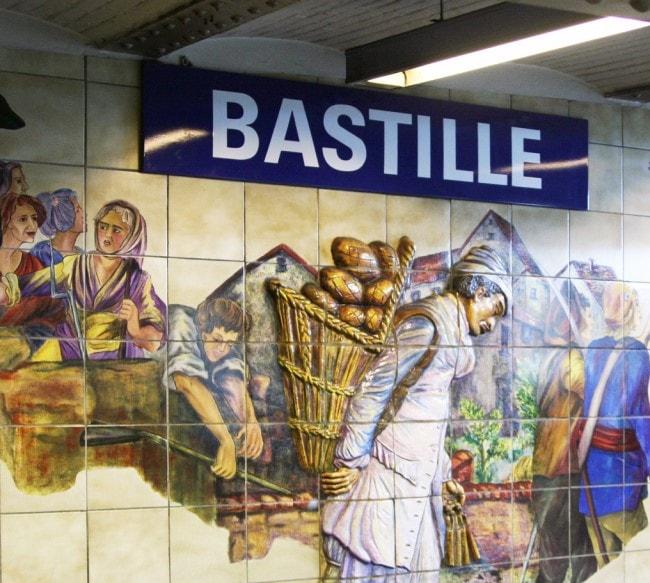 metro parigi bastille