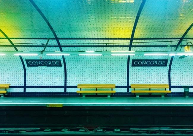 metro parigi concorde