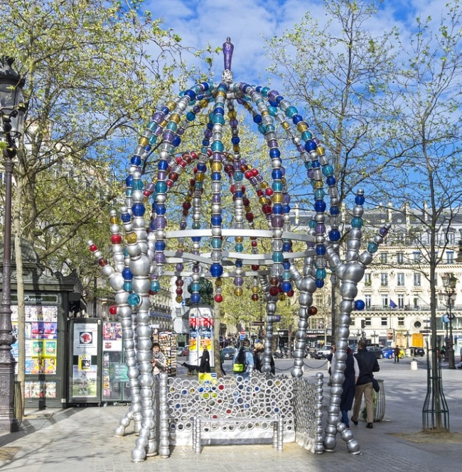 metro parigi palais royale louvre