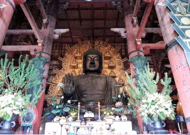 buddha Todaiji nara giappone