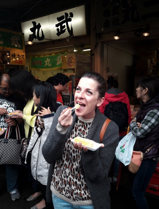 colazione mercato pesce tokyo