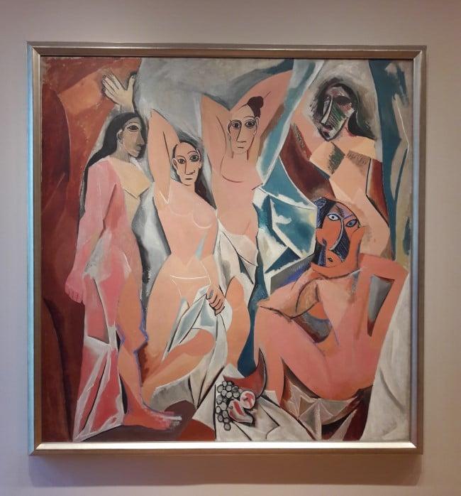 moma new york Les Demoiselles d'Avignon