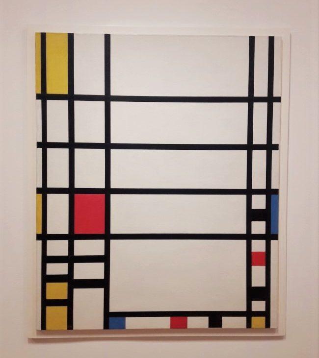 moma new york opere Mondrian