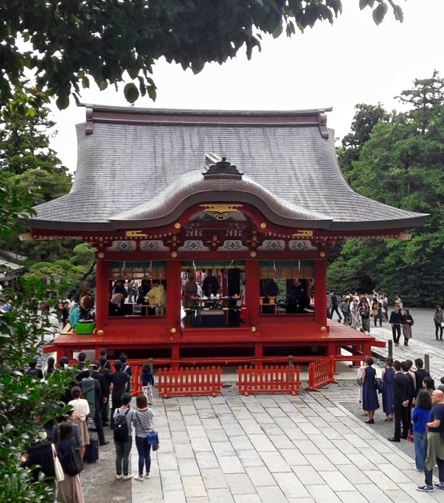 Kamakura santuario hachiman