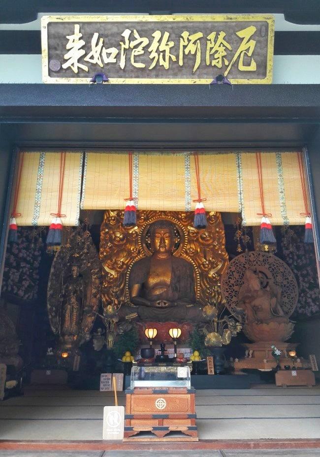 amida buddha Hasedera Kamakura