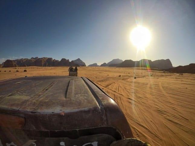 jeep safari wadi rum