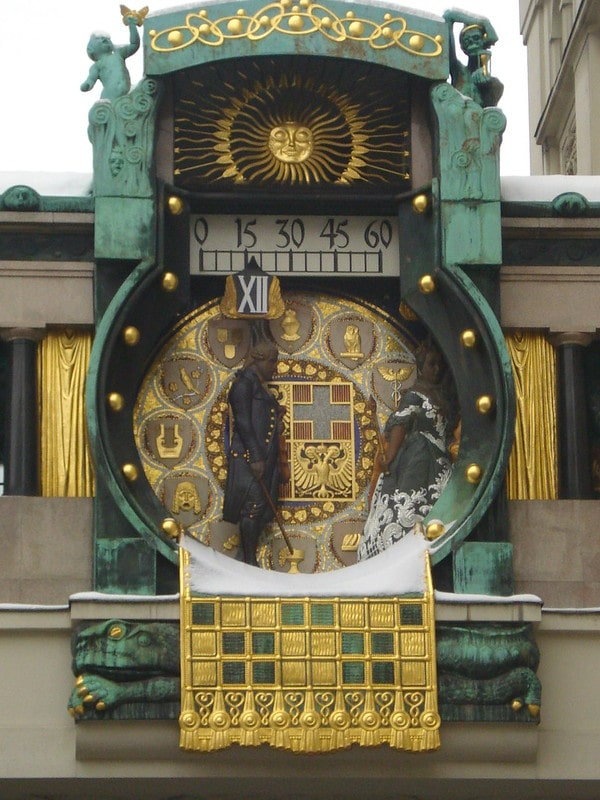 Anker orologio Vienna