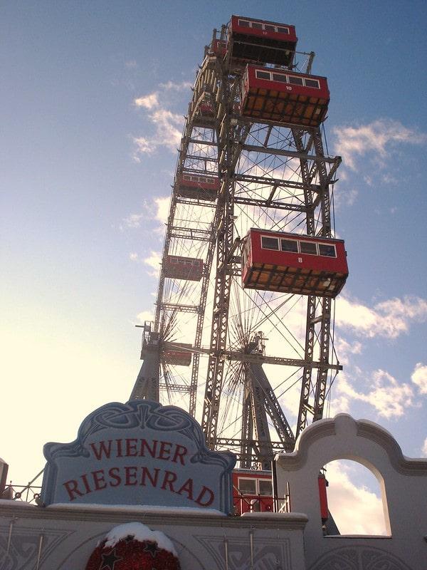 Riesenrad ruota panoramica Vienna