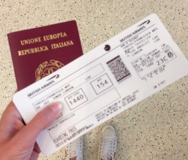 biglietto aereo san francisco