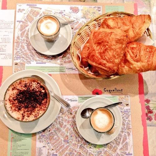 colazione parigi