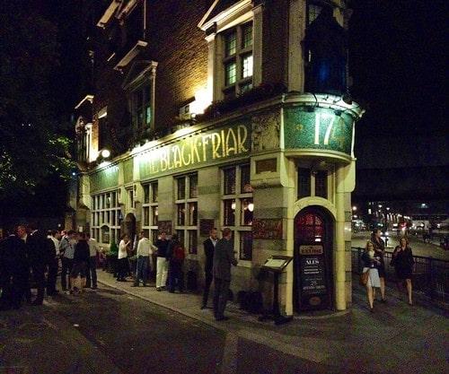 Blackfriar pub londra