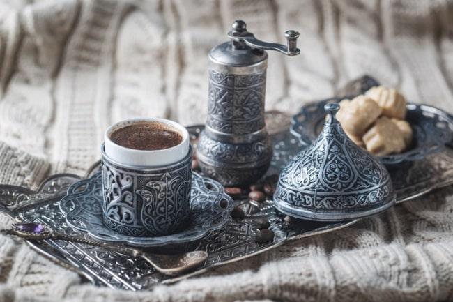 caffe turco al cardamomo