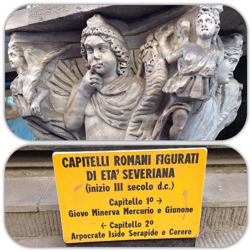 capitelli romani pisa