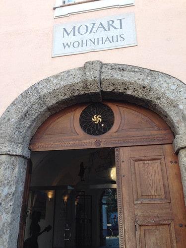 Casa di Mozart salisburgo