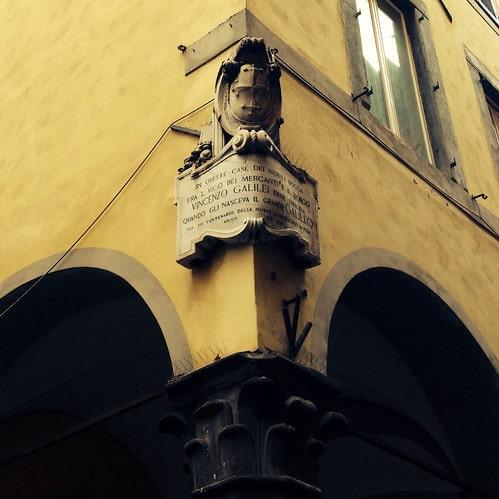 casa natale Galileo Galilei pisa
