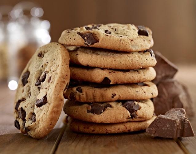 colazione americana cookies