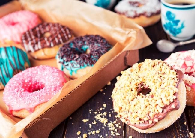colazione americana donuts