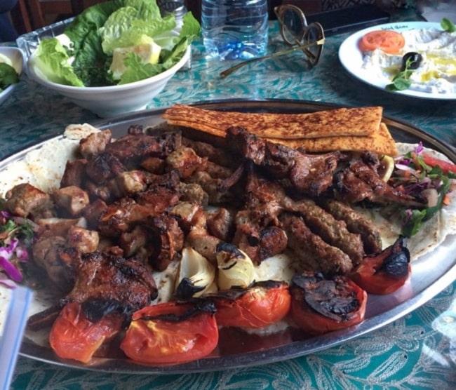 grigliata di carne giordania