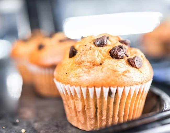 colazione americana muffin