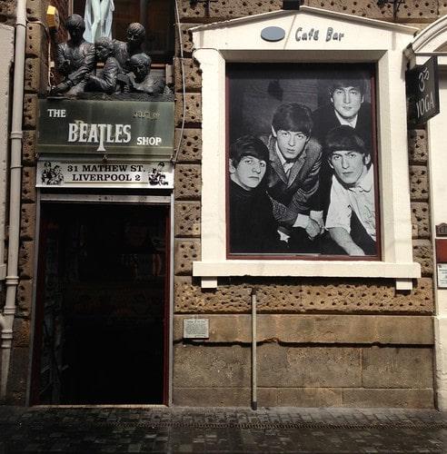The Beatles Shop liverpool