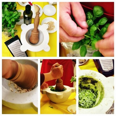 come fare il pesto