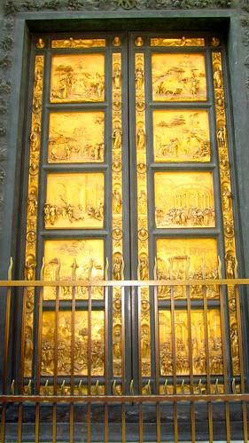 porta bronzea Battistero firenze