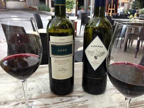vini di Bolgheri