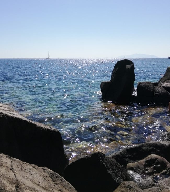 isola di capraia spiagge