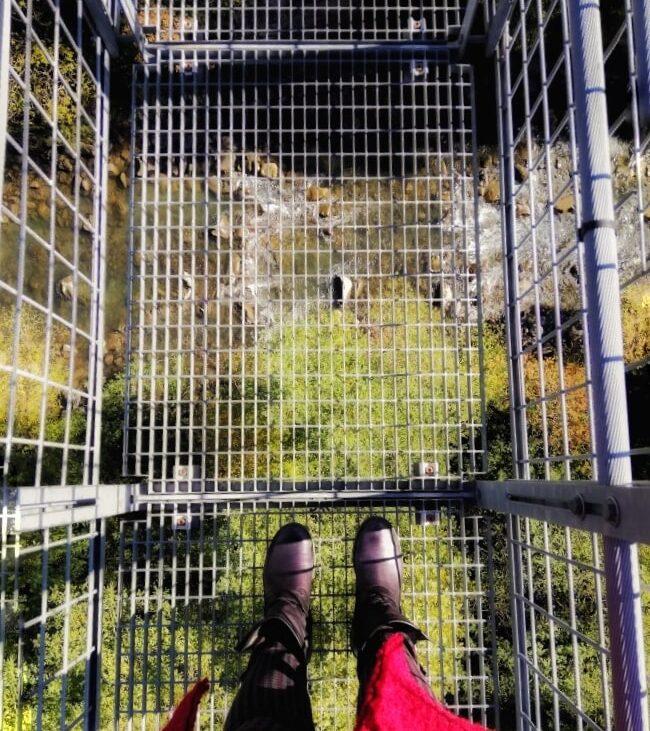 ponte sospeso di san marcello pistoiese