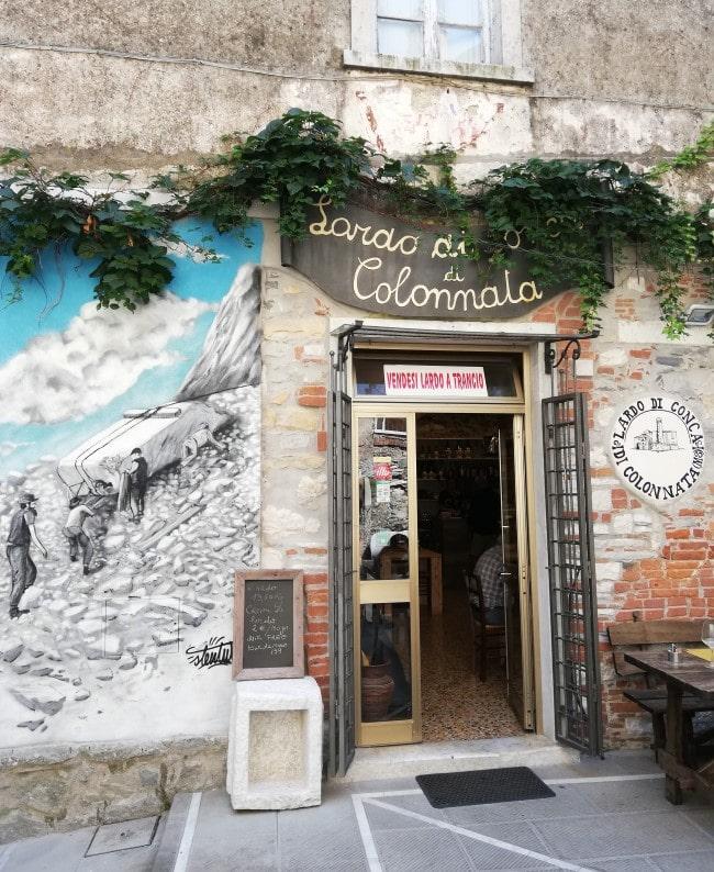 Colonnata dove mangiare