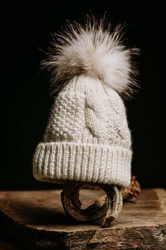 cappello lana di alpaca